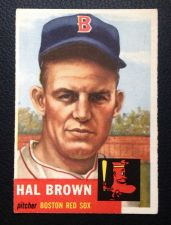 Buy 1953 Topps #184 Hal Brown VGEX+