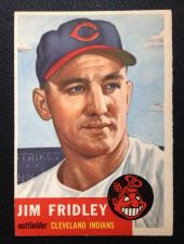 Buy 1953 Topps #187 Jim Frindley EXMT