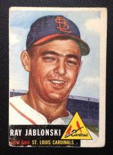 Buy 1953 Topps #189 Ray Jablonski GOOD
