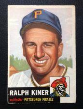 Buy 1953 Topps #191 Ralph Kiner HOF G/VG