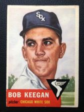 Buy 1953 Topps #196 Bob Keegan VG+