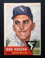Buy 1953 Topps #196 Bob Keegan EX