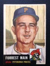 Buy 1953 Topps #198 Forest Main EX