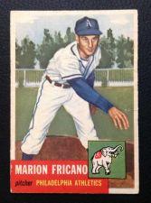 Buy 1953 Topps #199 Marion Fricano VG