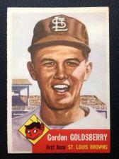Buy 1953 Topps #200 Gordon Goldsberry EX