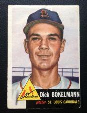 Buy 1953 Topps #204 Dick Bokelmann VG+