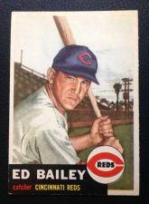 Buy 1953 Topps #206 Ed Bailey EX