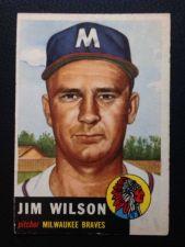 Buy 1953 Topps #210 Jim Wilson VGEX