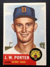Buy 1953 Topps #211 JW Porter EX