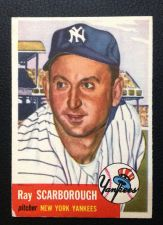 Buy 1953 Topps #213 Ray Scarborough VGEX