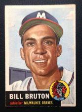 Buy 1953 Topps #214 Bill Bruton VGEX