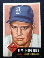Buy 1953 Topps #216 Jim Hughes EX