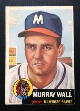 Buy 1953 Topps #217 Murray Wall EX+