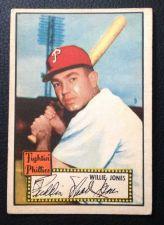 Buy 1952 Topps #47 Wllie Jones RB EX