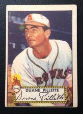 Buy 1952 Topps #82 Duane Pillette VG+
