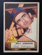 Buy 1952 Topps #83 Billy Johnson VGEX