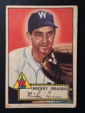 Buy 1952 Topps #90 Mickey Grasso VG