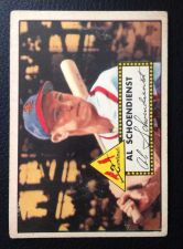 Buy 1952 Topps #91 Red Schoendienst FAIR HOF