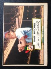 Buy 1952 Topps #92 Dale Mitchell VGEX+