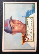 Buy 1952 Topps #110 Dutch Leonard VGEX+