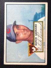 Buy 1952 Topps #110 Dutch Leonard G