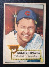 Buy 1952 Topps #114 Willard Ramsdell VGEX+