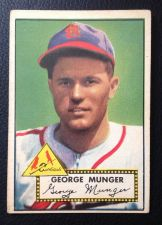 Buy 1952 Topps #115 George Munger EX