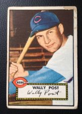 Buy 1952 Topps #151 Wally Post GOOD