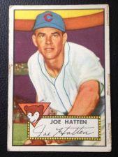 Buy 1952 Topps #194 Joe Hatten F/P
