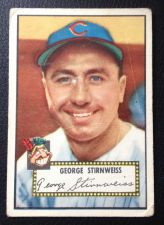 Buy 1952 Topps #217 George Stirnweiss G/VG