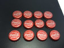 Buy Lot of 12 Vintage COKE Bottle CAPS Coca-Cola from Thailand!!!