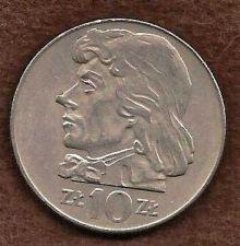 Buy Poland 10 ZLotych Coin 1969 Tadeusz Kosciuszko