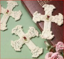 Buy Delicate Cross Bookmarks Plastic Canvas PDF Pattern Digital Delivery