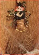 Buy Witch Ornament Plastic Canvas PDF Pattern Digital Delivery