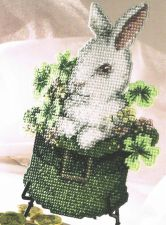 Buy St Paddys Day Ornament Plastic Canvas PDF Pattern Digital Delivery
