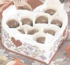 Buy Valentine Heart Candy Box Plastic Canvas PDF Pattern Digital Delivery