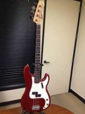 Buy Fender Precision bass vintage Candy Apple Red 1969 100% original