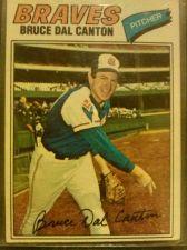 Buy 1977 BRUCE DEL CANTON #114 BRAVES
