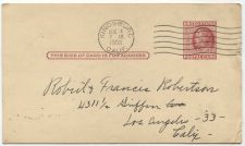 Buy 1955 2 Cent Franklin Postcard Used Kingsburg, CA Cancellation