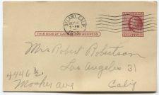 Buy 1953 2 Cent Franklin Postcard Used Delano, CA Cancellation 9-16-1953