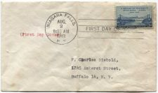 Buy 1943 3 Cent A Century of Friendship Home Made First Day Issue Cover 8-2-1948