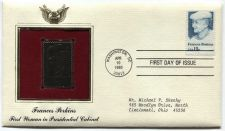 Buy 1980 Frances Perkins First Woman in the Presidential Cabinet Gold Replica Stamp