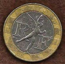Buy France 10 Francs 1989 Bi-metal Spirit of Bastille Coin
