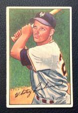 Buy 1952 Bowman #38 Whitey Lockman VGEX