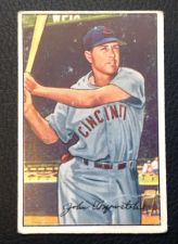 Buy 1952 Bowman #42 Johnny Wyrostek GOOD