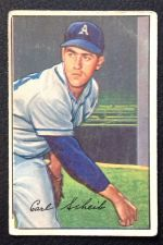 Buy 1952 Bowman #46 Carl Scheib VG