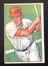 Buy 1952 Bowman #76 Del Ennis EX