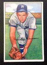 Buy 1952 Bowman #87 Mickey Vernon VG