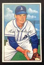 Buy 1952 Bowman #89 Billy Hitchcock EX+