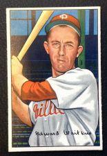 Buy 1952 Bowman #92 Eddie Waitkus VGEX+
